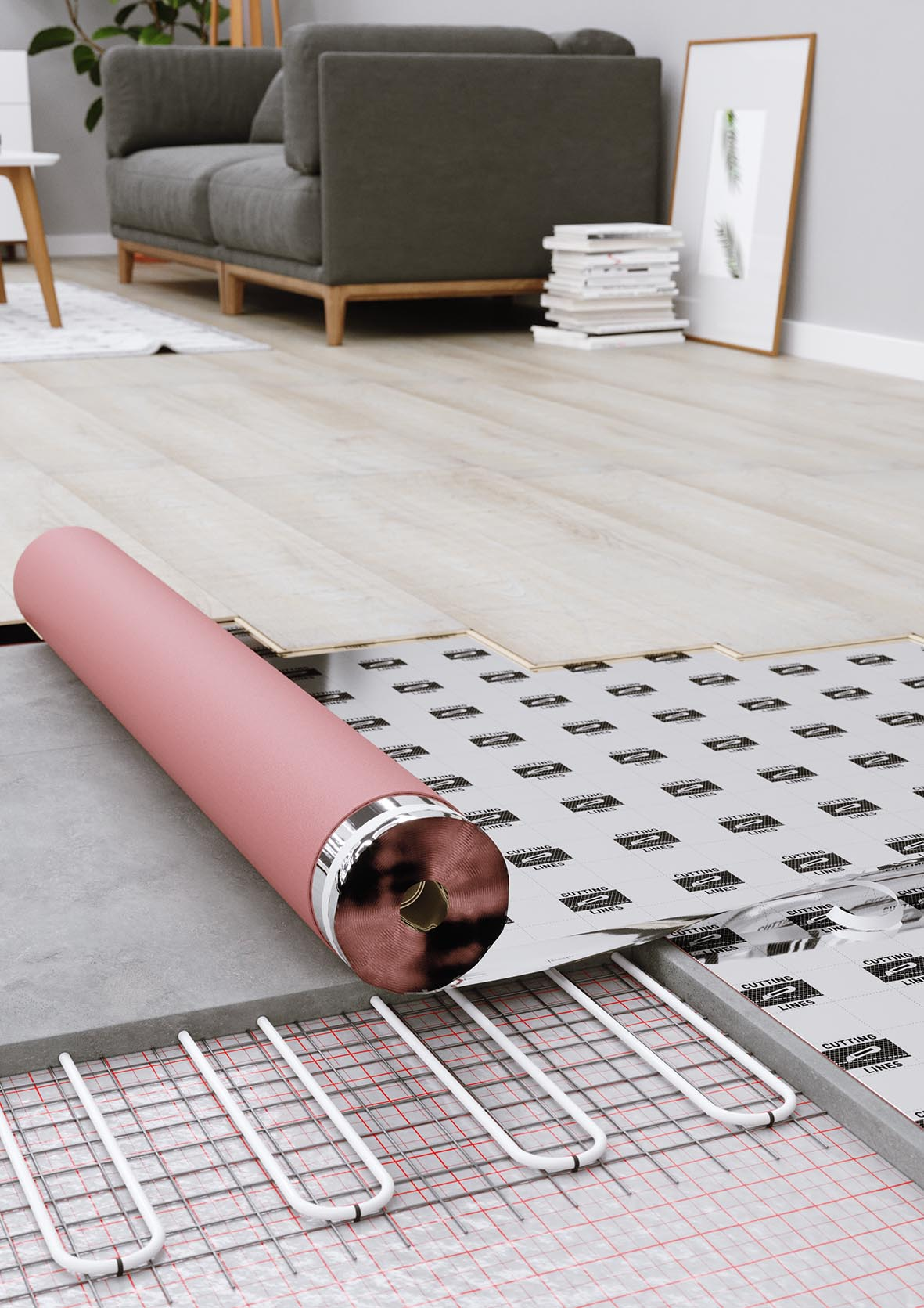 podkład pod panele, podkład podłogowy multiprotec 1000
