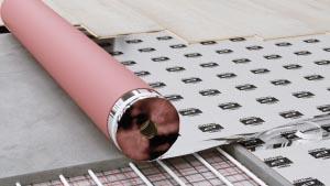 Multiprotec 1000 underlay, underfloor heating