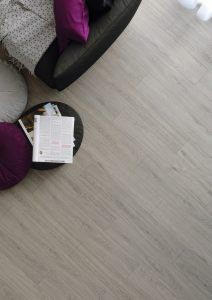 Vinyl floor dryback