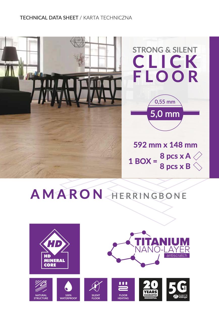 AMARON Herringbone